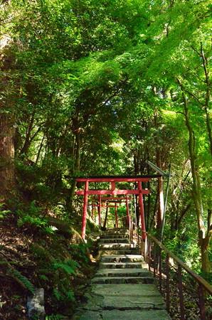 二葉姫神社参道