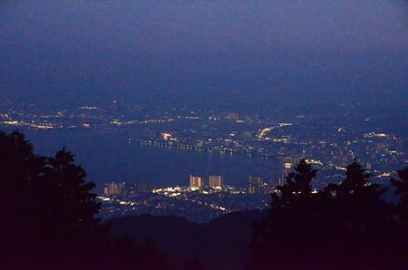 大津の夜景