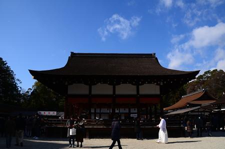 新年の下鴨神社