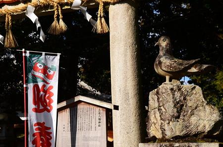 狛鳩の神社