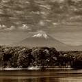 Photos: 赤外線炙り出し富士
