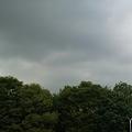 写真: 雲行きも怪しいので帰る。新しい携帯のカメラ機能も少し理解できたし...