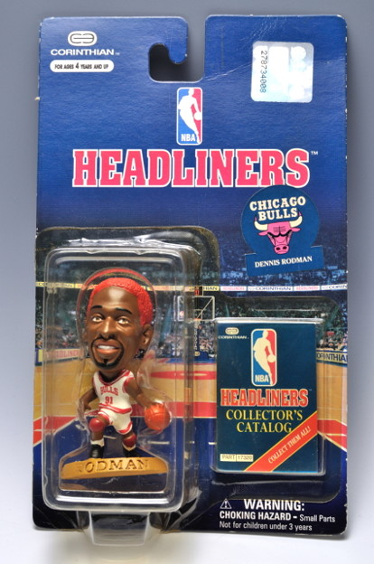 Photos: CORINTHIAN_NBA Headliners Basketball Collector Figure DENNIS RODMAN-CHICAGO BULLS_001