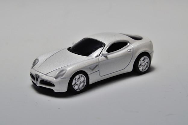ジョージア_ヨーロッパ名車シリーズ アルファロメオ x 京商 歴代名車コレクション Alfa Romeo 8C Competizione 2007_001