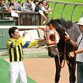 Photos: 5R新馬 フェイトフルウォー ウィナーズサークル