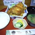 Photos: 鶏の唐揚げ定食