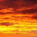 雲の向こうに太陽が