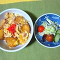 Photos: 油麩丼・・・