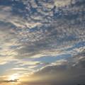 写真: きょうの夕ぐれ