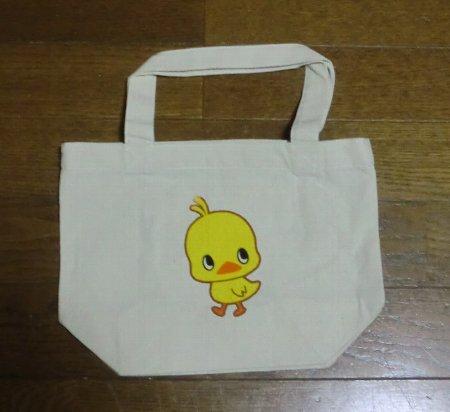 Photos: セブンイレブン限定 ひよこちゃんトートバッグ