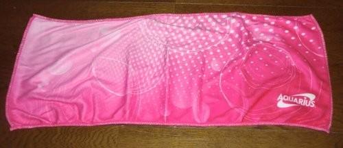 マイクロファイバー製 オリジナルスポーツタオル