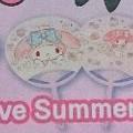 写真: いちご新聞 Love Summer★Uchiwa