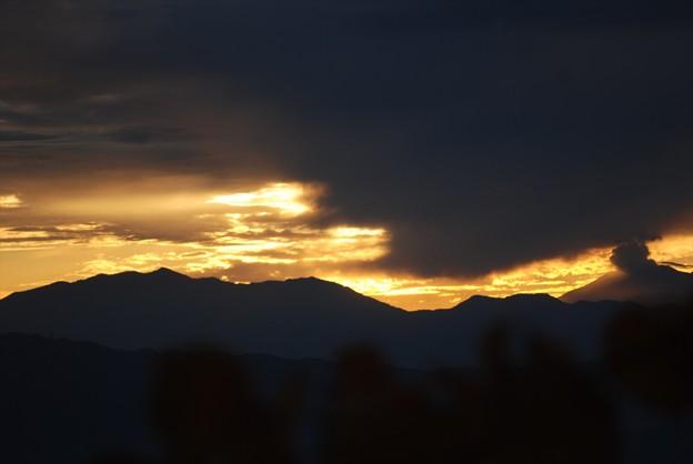 Photos: そして逆三角形の雲