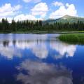 写真: Silver Lakeに映る空