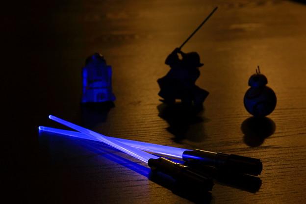 「第116回モノコン」  Jedi Chopsticks...May the force be with me ^^v
