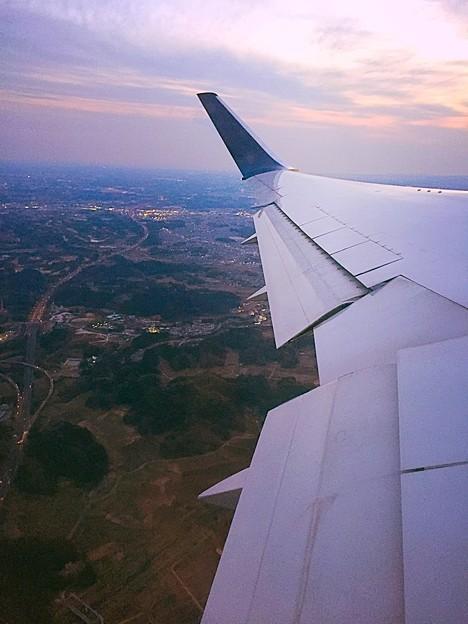 茨城上空通過中… たぶんw