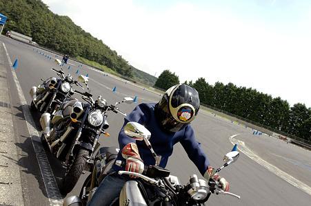 YAMAHA V-MAX試乗会:05