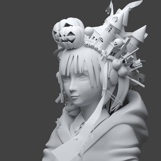 Happy Halloween!〔3D ver.〕B