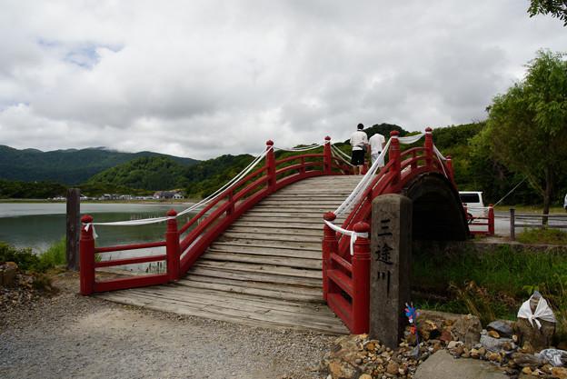三途川に架かる橋(恐山)20160814