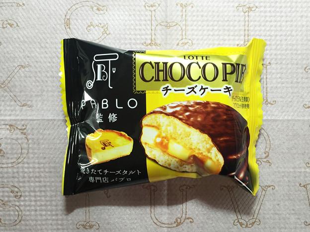 『ロッテ』の「パブロ監修チョコパイチーズケーキ」01