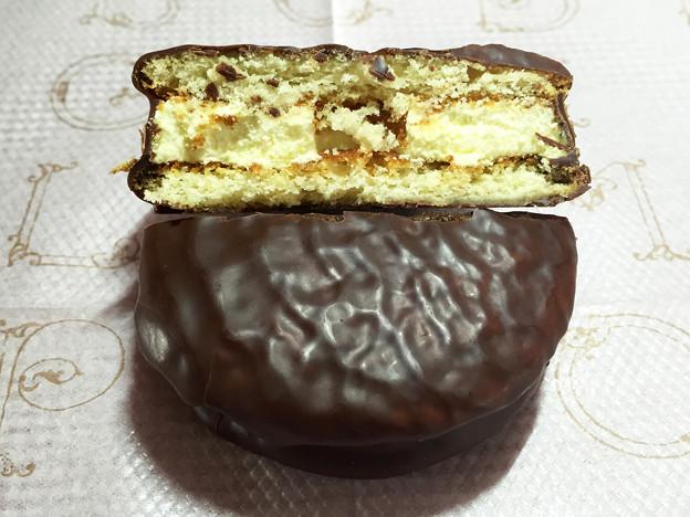 『ロッテ』の「パブロ監修チョコパイチーズケーキ」04