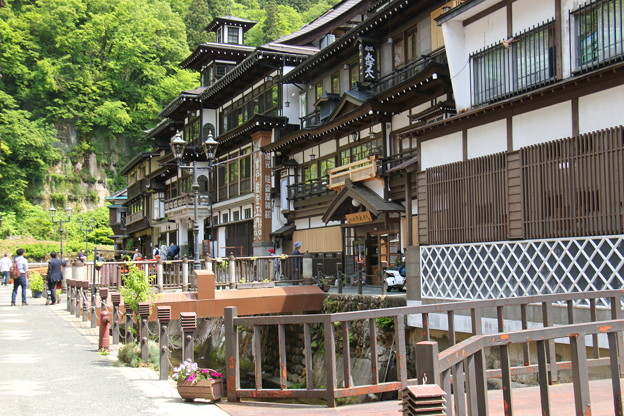 Photos: 銀山温泉にて (3)