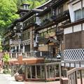 銀山温泉にて (3)