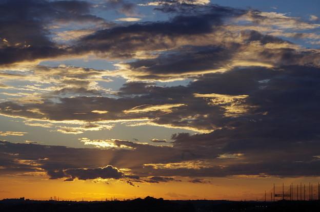 空景色9*今日夕方頃の空