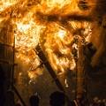 写真: 炎の祭典