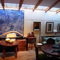 Photos: 泊まった 湯布院の宿のギャラリースペース
