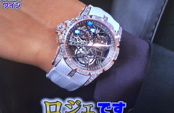 【動画】GACKT着用のロジェ腕時計は6000万円!「芸能人格付けチェック」2017の出演者も驚愕!