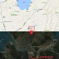 Photos: 「夏瀬橋」の地図を公開!山?賢人のGalaxyで撮る!! #1「吊り橋」篇のロケ地