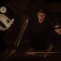 Photos: 【動画】タモリ&くまモンがBOSS新CM「プレミアム熊本」篇で初共演!屋根裏で槍の穂先にびっくり!