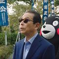 Photos: 缶コーヒー「プレミアムボス」新CMでタモリ&くまモンが初共演!熊本城を応援する感動のCM!