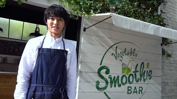 山崎賢人の「野菜生活スムージー」新CMに出演さした際のコメントが届く!KAGOME