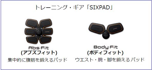 石川祐希【SIXPADのCM】に出演!肉体美にファンうっとり!!SIXPADの紹介
