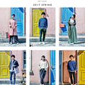 Photos: 坂口健太郎、忽那汐里【niko and …】2017 SPRING KEY VISUL