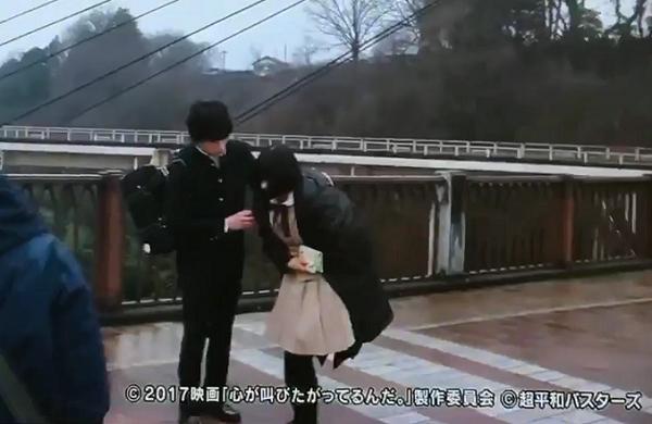 【動画】映画「心が叫びたがってるんだ。」中島健人、芳根京子の撮影シーンが公開!
