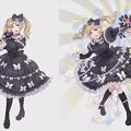 """Photos: 【小林幸子】「ゴシックは魔法乙女」とコラボ!ゴスロリ衣装の""""使い魔・幸子""""がゲームに登場!(CMあり)"""