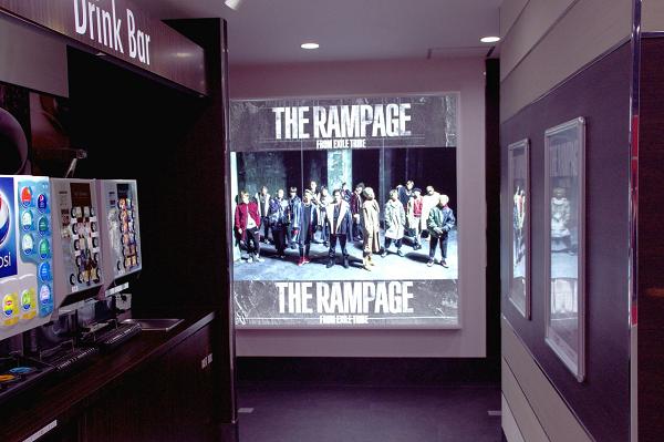 Photos: 「THE RAMPAGE ROOM」実施店舗内画像:ビッグエコー 中目黒山手通り店