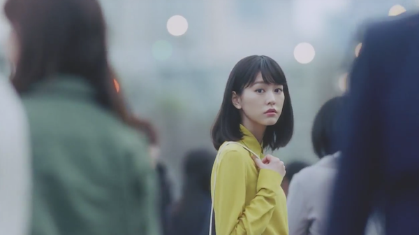桐谷美玲「ひと目ぼれの瞬間」メイキング映像