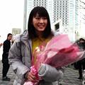 Photos: コンタクトのアイシティ新CMに桐谷美玲が起用!「ひと目ぼれの相手は誰?」