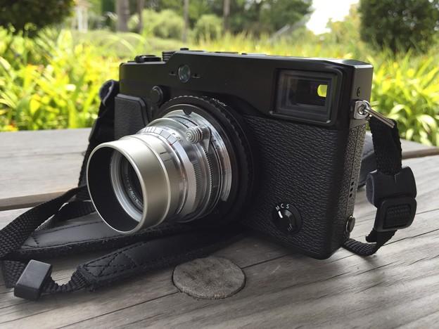 X-Pro1とCANON LENS 35mm f:3.2