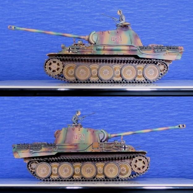 14 パンサー(ドイツ中戦車 1;35  tamiya '16.10.