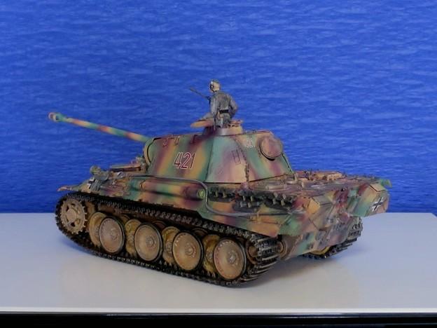 08 パンサー(ドイツ中戦車 1;35  tamiya '16.10.