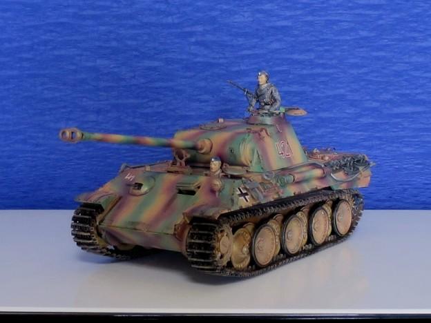 07 パンサー(ドイツ中戦車 1;35  tamiya '16.10.