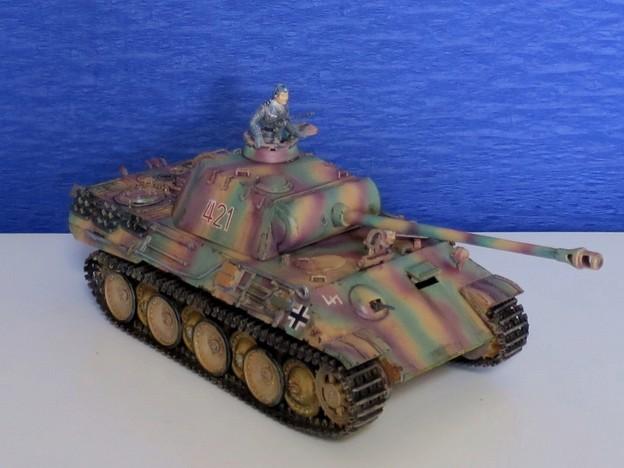 03 パンサー(ドイツ中戦車 1;35  tamiya '16.10.