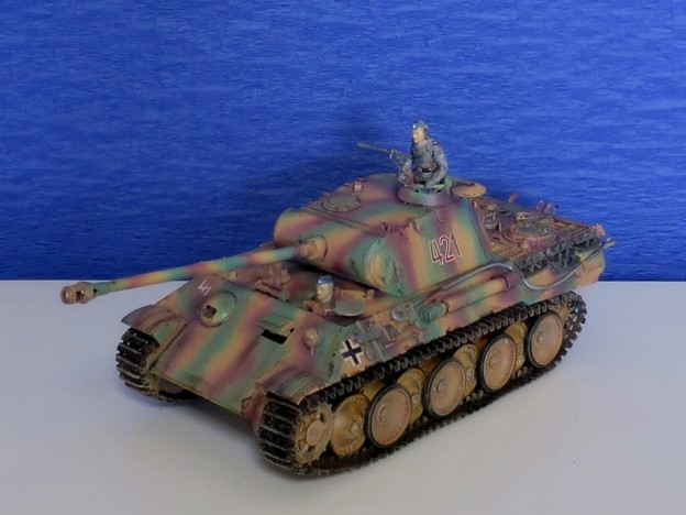 02 パンサー(ドイツ中戦車 1;35  tamiya '16.10.