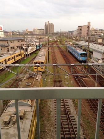 20140720近江鉄道 彦根駅