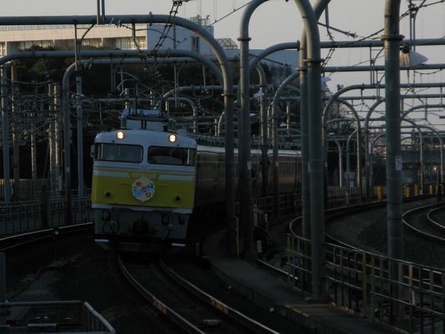 EF81-99+14系客車ゆとり